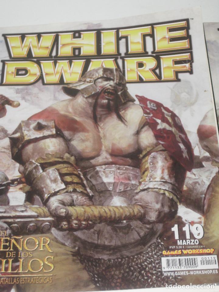 Juegos Antiguos: White Dwarf Nº 117-118-119 - Foto 2 - 70253785