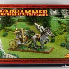 Juegos Antiguos: WARHAMMER - CARRUAJE DE TIRANOC - DESCATALOGADO 2003 , NUEVO A ESTRENAR. Lote 71541251