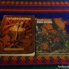 Juegos Antiguos: WARHAMMER EL JUEGO DE BATALLAS FANTÁSTICAS Y HORDAS INVASORAS, QUINCE LISTAS DE EJÉRCITO.. Lote 74164199