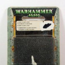 Juegos Antiguos: WARHAMMER 40K - COMANDANTE ELDAR OSCURO - DESCATALOGADO 2003. Lote 75734163