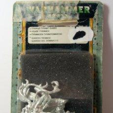Juegos Antiguos: WARHAMMER 40K - GUARDIA TITANIDA TYRANIDA - DESCATALOGADO 2003. Lote 75735647