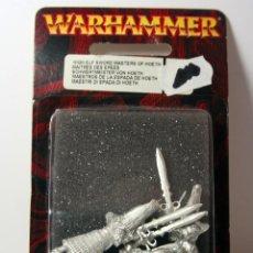 Juegos Antiguos: WARHAMMER - MAESTROS DE LA ESPADA DE HOETH - DESCATALOGADO 2003. Lote 75735847