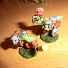 Juegos Antiguos: DOS ORCOS METAL , MINADORES , WARHAMMER 40K. Lote 76549075