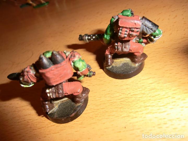 Juegos Antiguos: 2 orcos metal, warhammer 40k. - Foto 4 - 76549223