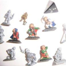Juegos Antiguos: HOBBITS , ROL , TABLERO , METAL. Lote 82028772