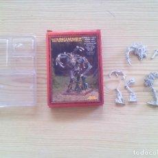 Juegos Antiguos: WARHAMMER - WOOD ELF TREEMAN (METAL) (CON CAJA). Lote 83514288