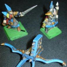 Juegos Antiguos: WARHAMMER FIGURAS METAL. Lote 86424072