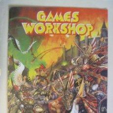 Juegos Antiguos: REVISTA O PUBLICACION DE GAMES WORKSHOP , DE WARHAMMER. Lote 86436460