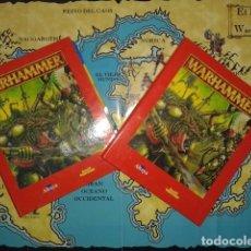 Juegos Antiguos: EL MUNDO DE WARHAMMER FICHEROS COLECCION ALTAYA AÑO 2000. Lote 87165696