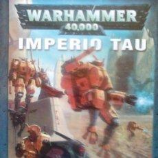 Juegos Antiguos: WARHAMMER 40000 IMPERIO TAU. Lote 88318568