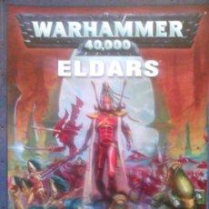 Juegos Antiguos: WARHAMMER 40000 ELDARS. Lote 88319248