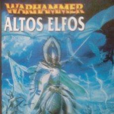 Juegos Antiguos: WARHAMMER ALTOS ELFOS. Lote 88319816
