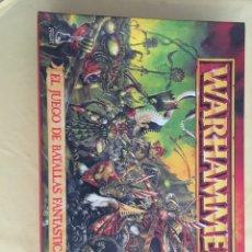 Juegos Antiguos: JUEGO WARHAMMER. Lote 88842382