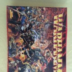 Juegos Antiguos: JUEGO WARHAMMER EL JUEGO DE LAS BATALLAS FANTÁSTICAS. Lote 88842652