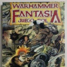 Juegos Antiguos: LIBRO WARHAMMER - FANTASIA JUEGO ROL - GAMES WORKSHOP 1999. Lote 89149640