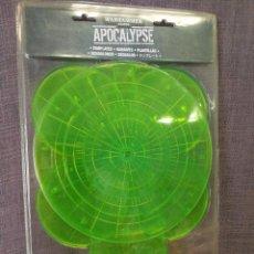 Juegos Antiguos: PLANTILLAS APOCALYPSE WARHAMMER 40000. Lote 90430764