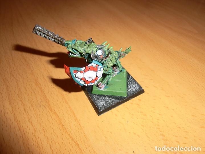 Juegos Antiguos: Jefe lagarto ,warhammer, metal - Foto 3 - 92243595