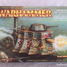 Juegos Antiguos: WARHAMMER SEGUNDO MODELO DE TANQUE IMPERIAL DESCATALOGADO AÑO. Lote 93576679