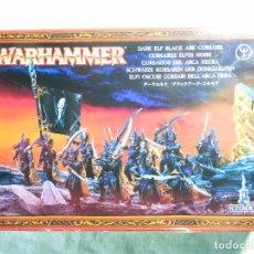 Juegos Antiguos: WARHAMMER-10 CORSARIOS DEL ARCA NEGRA-PLÁSTICO-MINIATURAS PARA MONTAJE-JUEGO DE ROL-FIGURAS COMPLETA. Lote 93683825