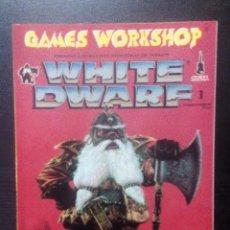 Juegos Antiguos: REVISTA WHITE DWARF Nº 1 WARHAMMER GAMES WORKSHOP CITADEL 1993 PERFECTO ESTADO. Lote 96856015