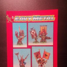 Juegos Antiguos: EAVY METAL THE COMPLETE GUIDE TO PAINTING CITADEL MINIATURES GAMES WORKSHOP 1993. Lote 96859511