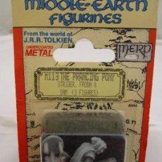 Giochi Antichi: MINIATURAS MITHRIL - M113 - STRIDER, FRODO Y SAM - EN SU BLISTER ORIGINAL. Lote 85316216