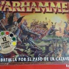 Juegos Antiguos: WARHAMMER - LA BATALLA POR EL PASO DE LA CALAVERA - ( SIN DESPRECINTAR ) DESCATALOGADO -. Lote 97718251