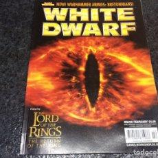 Juegos Antiguos: WHITE DWARF Nº 2 - EDICION EN INGLES. Lote 98022619