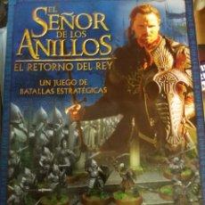 Juegos Antiguos: EL SEÑOR DE LOS ANILLOS, EL RETORNO DEL REY. Lote 98551379