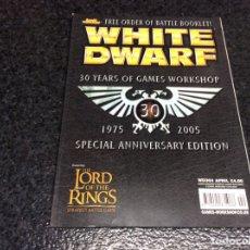 Juegos Antiguos: WHITE DWARF Nº 4 - EDICION EN INGLES. Lote 98566855
