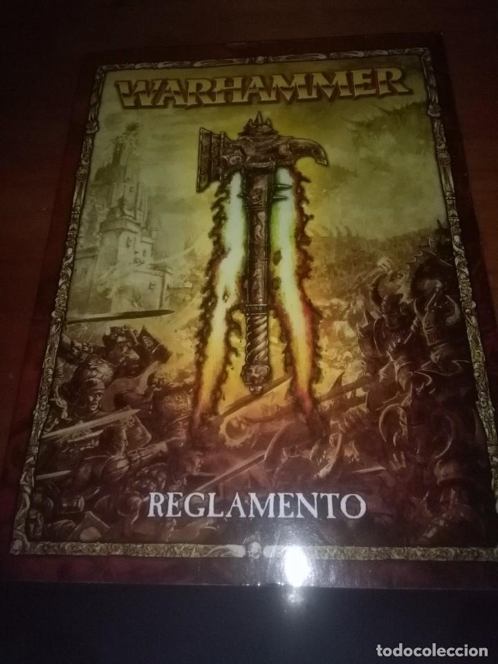 LIBRO. REGLAMENTO. WARHAMMER. EL JUEGO DE LA BATALLAS FANTÁSTICAS. ESPAÑOL. EST15B5 (Juguetes - Rol y Estrategia - Warhammer)