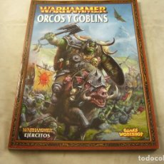 Juegos Antiguos: WARHAMMER ROL GAMES WORKSHOP EJERCITOS ORCOS Y GOBLINS. Lote 101266375