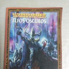 Juegos Antiguos: WARHAMMER, ELFOS OSCUROS. Lote 101394519