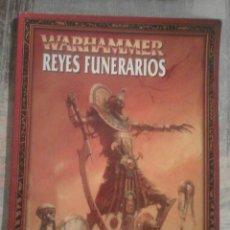 Juegos Antiguos: WARHAMMER. REYES FUNERARIOS. LIBRO DE JUEGO - GAMES WORKSHOP. Lote 102538559