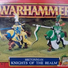 Juegos Antiguos: WARHAMMER. BRETONIA. CABALLEROS DEL REINO BRETONIANOS. Lote 105907003