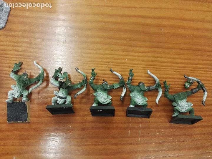WarhammerArqueros Orcos 5 unidades segunda mano