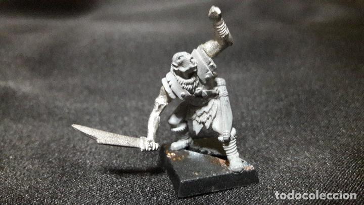 Juegos Antiguos: gran lote figuras antiguas plomo mithril. tipo warhammer coleccion - Foto 8 - 107756039