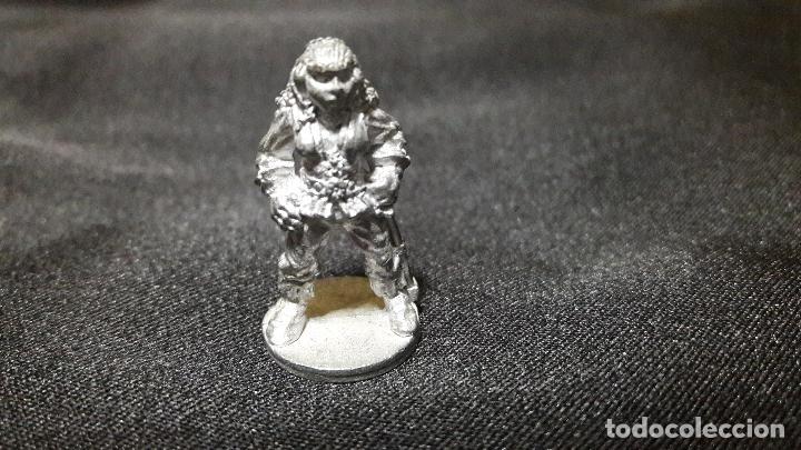 Juegos Antiguos: gran lote figuras antiguas plomo mithril. tipo warhammer coleccion - Foto 9 - 107756039