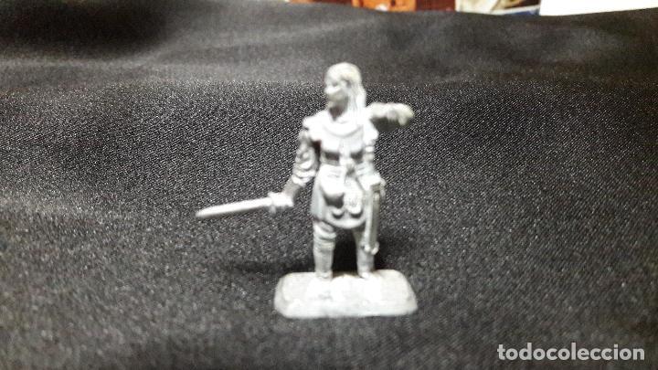 Juegos Antiguos: gran lote figuras antiguas plomo mithril. tipo warhammer coleccion - Foto 15 - 107756039