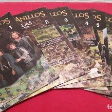 Juegos Antiguos: LOTE 8 FASCICULOS EL SEÑOR DE LOS ANILLOS BATALLAS EN LA TIERRA MEDIA GAMES WORKSHOP WARHAMMER. Lote 108309623