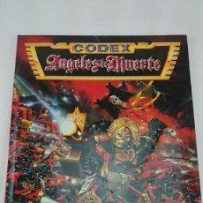 Juegos Antiguos: CODEX ANGELES DE MUERTE WARHAMMER 40000 DE GAMES WORSHOP 1996. Lote 108359239