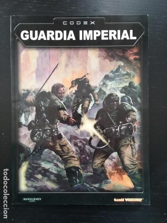 Codex Guardia Imperial warhammer 40000 games workshop, usado segunda mano