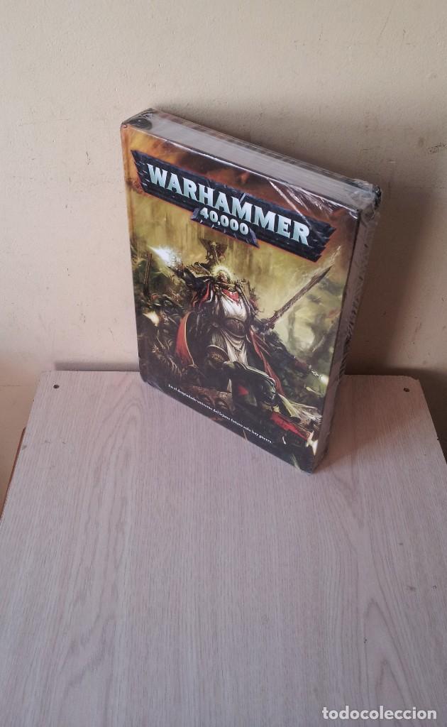 WARHAMMER 40.000 - LIBRO DE REGLAS - EN EL DESPISTADO UNIVERSO DEL LEJANO SOLO HAY GUERRA (Juguetes - Rol y Estrategia - Warhammer)