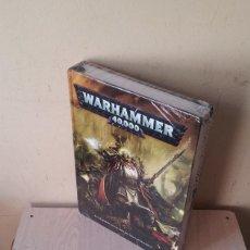 Juegos Antiguos: WARHAMMER 40.000 - LIBRO DE REGLAS - EN EL DESPISTADO UNIVERSO DEL LEJANO SOLO HAY GUERRA. Lote 108834659