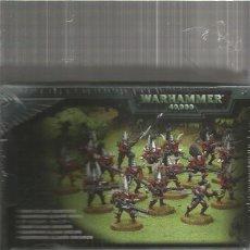Juegos Antiguos: WARHAMMER GUERREROS ELDARS OSCUROS. Lote 109039823