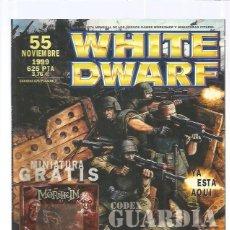 Juegos Antiguos: WHITE DWARF 55. Lote 109858595