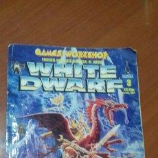 Juegos Antiguos: WHITE DWARF N°3. Lote 110314480