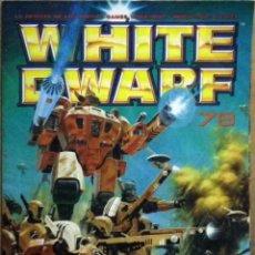 Juegos Antiguos: REVISTA WHITE DWARF Nº 78. Lote 128640284