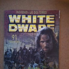 Jogos Antigos: REVISTA WHITE DWARF 91 EN CASTELLANO. Lote 111035803