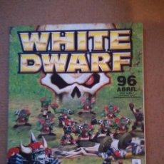 Jogos Antigos: REVISTA WHITE DWARF 96 EN CASTELLANO. Lote 111037303